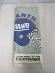 NEW TOLAND ENTERPRISES NEW YORK GIANTS FOOTBALL DIRECTORS CHAIR RECOVER SEALED