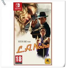 SWITCH L.A. Noire Nintendo Rockstar Action Games