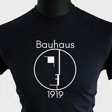 Bauhaus T Shirt Classique Moderniste Art Logo Visage The Cure Gothique Bowie Tee