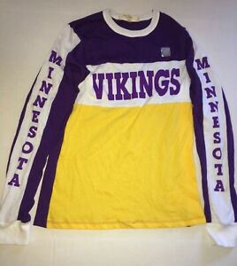 Brand New Minnesota Vikings Long Sleeve T-Shirt - NFL - Small