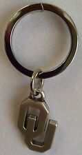Oklahoma Sooners NCAA College Football Silver Charm Key Chain Free Ship