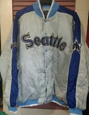 Seattle Mariners Throwback Dugout Jacket 2XL Cooperstown Collection G-III MLB