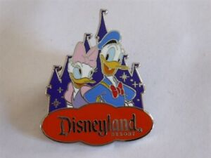 Disney Trading Pins 119203 DLR - Donald & Daisy Duck with Castle - Costco Travel