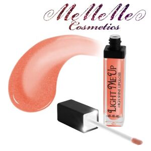 CORAL LIP GLOSS LIGHT & MIRROR Liquid Lipstick Non-Sticky Shimmer Makeup VEGAN