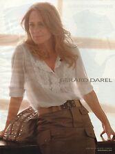 Publicité 2010  gerard darel robin wright sac à main