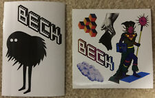 Beck The Information Stickers set of 2 promo only