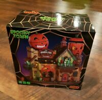 Lemax Haunted Halloween ~ The Ghoulish Gourd Pub & Grill Spooky Town NEW IN BOX!