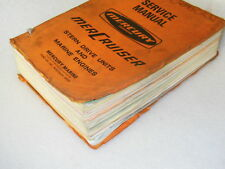 MERCURY Stern Drive Units & Marine Engines - Outboard Motors SERVICE MANUAL 1973