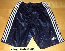 Adidas Glanz Shorts nylon Short Turnhose Sporthose Sprinter Glanzshorts Gr.4-5