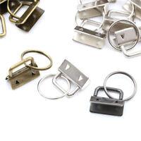 10pcs Key FOB quincaillerie trousseau fendue poignet bracelets coton queue
