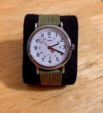 Timex Weekender Slip Thru Nylon Strap Watch - Green