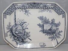 Davenports Ltd, Longport - Mersey Pattern - Large Platter - 1885