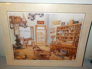 "1987 Scafa Tornabene General Store Litho Print by Kay Lamb Shannon 16"" x 20"""