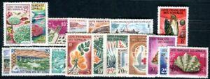 COTE SOMALI 1962 Yvert 311-328 ** POSTFRISCH TADELLOS 68€(F4873