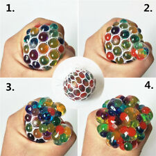1Pc Squishy Mesh Grape Ball Anti Stress Reliever Squeeze ADHD Pressure Toys Gift