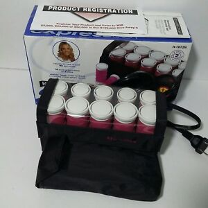 Remington Express Set 10 Instant Heated Rollers Curlers Travel H 1012N Pageant