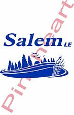 Salem LE scene lake Decal  RV sticker decals salem le travel trailer camper rv