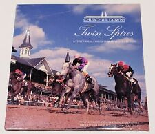 1995 CHURCHILL DOWNS 2 Phone Card COMMEMORATIVE CENTENNIAL COLLECTION #35/5000