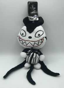 """Disney The Nightmare Before Christmas 11"""" Scary Teddy Plush Pet Toy Sentiments"""