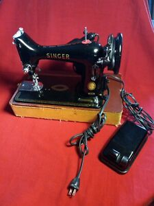 Vintage Singer 99K Sewing Machine ~ Excellent Clean Working Condition !