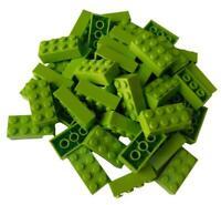 Lego Basissteine 4x2 rot 3001 neu 10-20 - 50-100 - 250 Stück