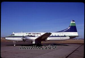 ORIG. AVIATION / AIRLINE SLIDE  AIR ONTARIO  C-GGWJ