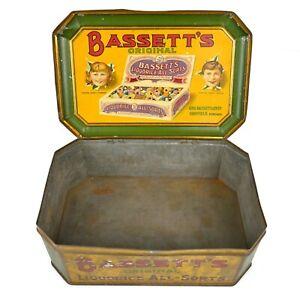Rare Large Bassett's Original Liquorice All-Sorts Tin      |82