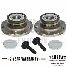 x2 REAR WHEEL BEARING + HUB FOR SEAT LEON,TOLEDO,ALHAMBRA,ALTEA 2004>ONWARDS