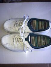Dansko Women's White Leather Lace Up Athletic Shoes US Size 9/9.5 EUR 40