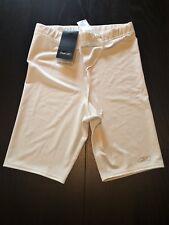 NWT Reebok Men's Large White Compression Shorts