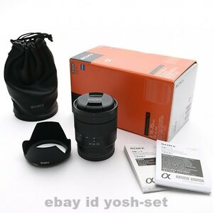 SONY Vario-Tessar T And 16-70mm F4 ZA OSS SEL1670Z Carl Zeiss