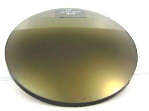 2 gold verspiegelte Sonnenbrillengläser Einstärken Index 1,5 incl. HRSET