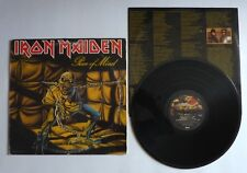 Iron Maiden Piece Of Mind LP Original 1983