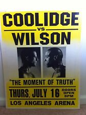 ORIGINAL Pulp Fiction Prop Poster w/ Original Auction Catalog, Willis, Tarantino