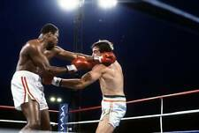 Old Boxing Photo Larry Holmes Throws A Punch Against Gerry Cooney