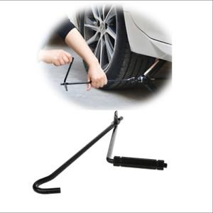 Car Garage Tire Wheel Lug Wrench Jack Lug Wrench Tire Change Aid Wrench Black
