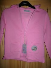 BNWT GIRLS MONKEY & BOB HOODED ZIP UP TOP AGED 5 YEARS RRP £28.50