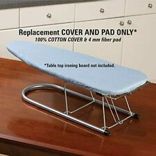 1 Piece Tabletop Ironing Board Cover & 4 Mm Fiber Pad New