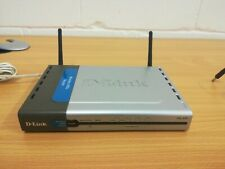 D-link DSL-604+ adsl wifi router with PSU tested working factory reset