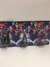 "MONOGRAM DC COMICS NEW 52 BATMAN ROBIN JOKER SET OF 3 PVC FIGURES 2.5"" BRAND NEW"