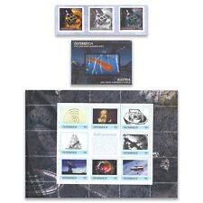 Austria Stargazing Astronomy History Stamp Album Exclusive Black & Colour Prints