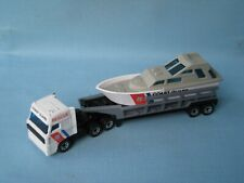 Matchbox Convoy Coast Guard Boat Launch Rescue Daf Truck Toy Model 155mm Boxed