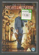 NIGHT AT THE MUSEUM 1 - Ben Stiller - UK REGION 2 DVD - sealed/new