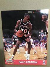 DAVID ROBINSON PHOTO -  NBA HOOPS 1990