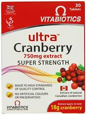Vitabiotics Ultra Cranberry Super Strength 30 Tablets