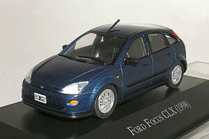 FORD 1/43 Ford Focus CLX 1998 dark blue