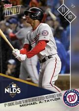 2017 TOPPS NOW #744 MICHAEL TAYLOR 8TH INN GRAND SLAM DELIVERS NATIONALS