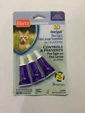 New listing Hartz Ultra Guard One Spot Flea and Tick Treatment For Cats and Kittens
