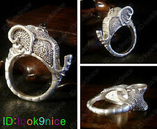 New Fashion Lucky Totem Tibetan Tibet Silver Elephant Rings