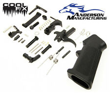 Anderson Manufacturing Complete Lower Parts Kit - Blackened Stainless - LPK
